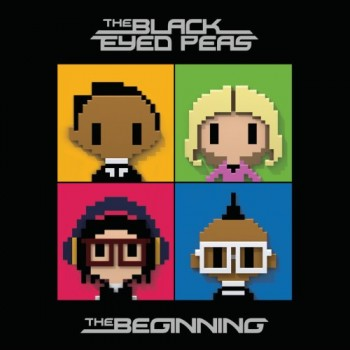 beginning black eyed peas album art. lack eyed peas album cover
