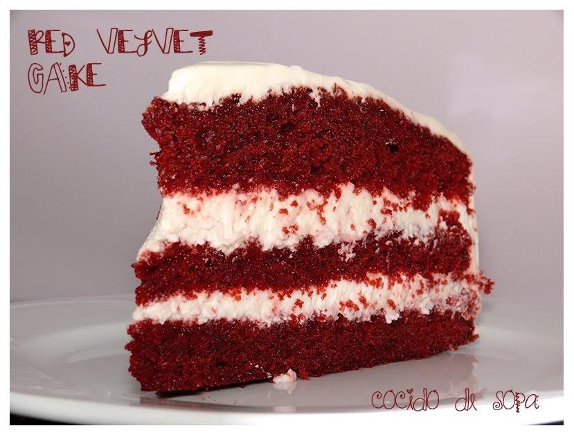 Red Velvet Cake Tarta Terciopelo Rojo Con Sin Thermomix