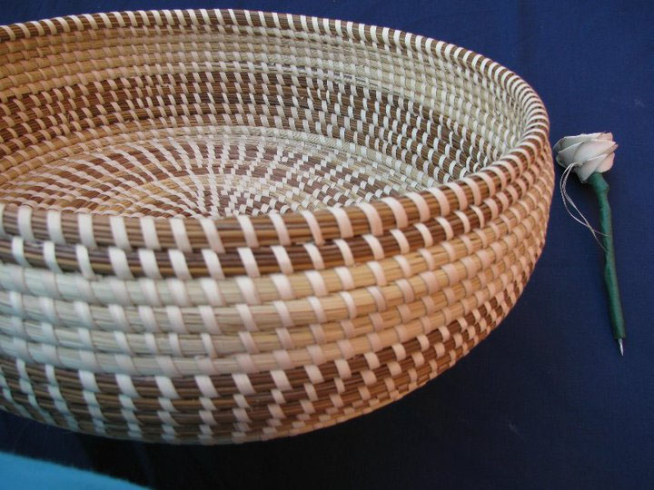 How To Weave A Sweetgrass Basket : Self taught sc an ethological artistic survey