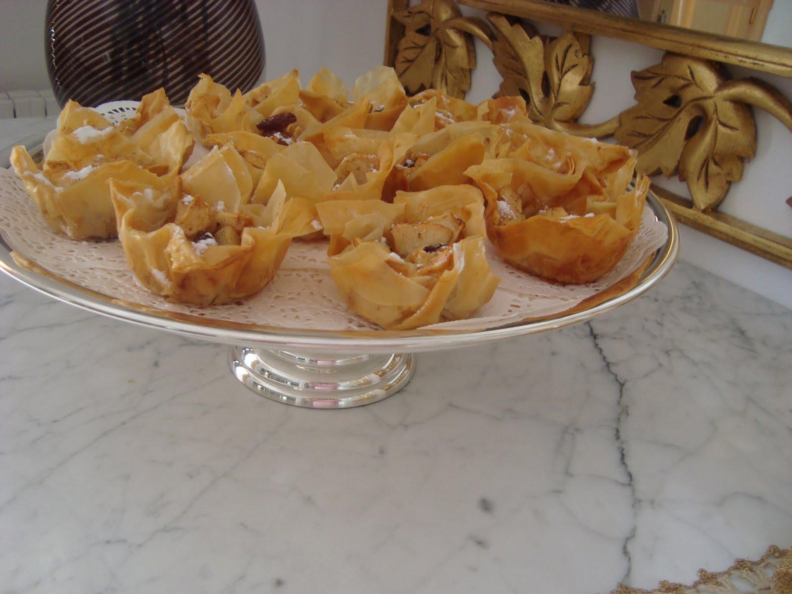 Du bruit dans la cuisine tartelettes aux pommes et aux pices - Du bruits dans la cuisine ...