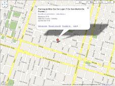 En google maps... Como llegar a nuestra Parroquia