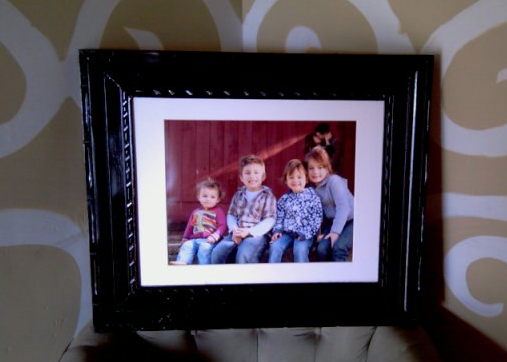 I Finished My Picture Frame What Do You Think Coupon Connections