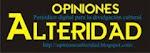 OPINIONES ALTERIDAD. Sección del periódico