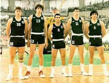 EUROBASKET 1987 CHAMPION HELLAS