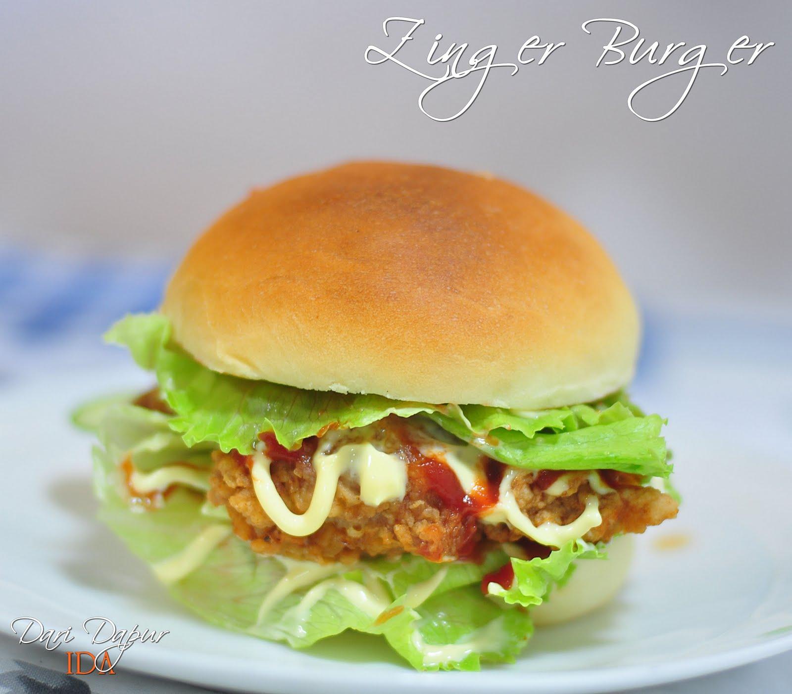 zinger+burger Resep Indonesia CaraBiasa.com