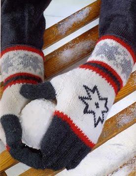 Вязание спицами палец у перчаток 78