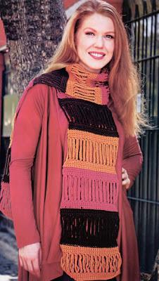 оринигальный шарф