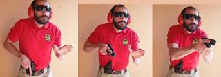 Mecanismos de SEguridad de un arma 2+desenfunde+en+serie+de+tres+fotos