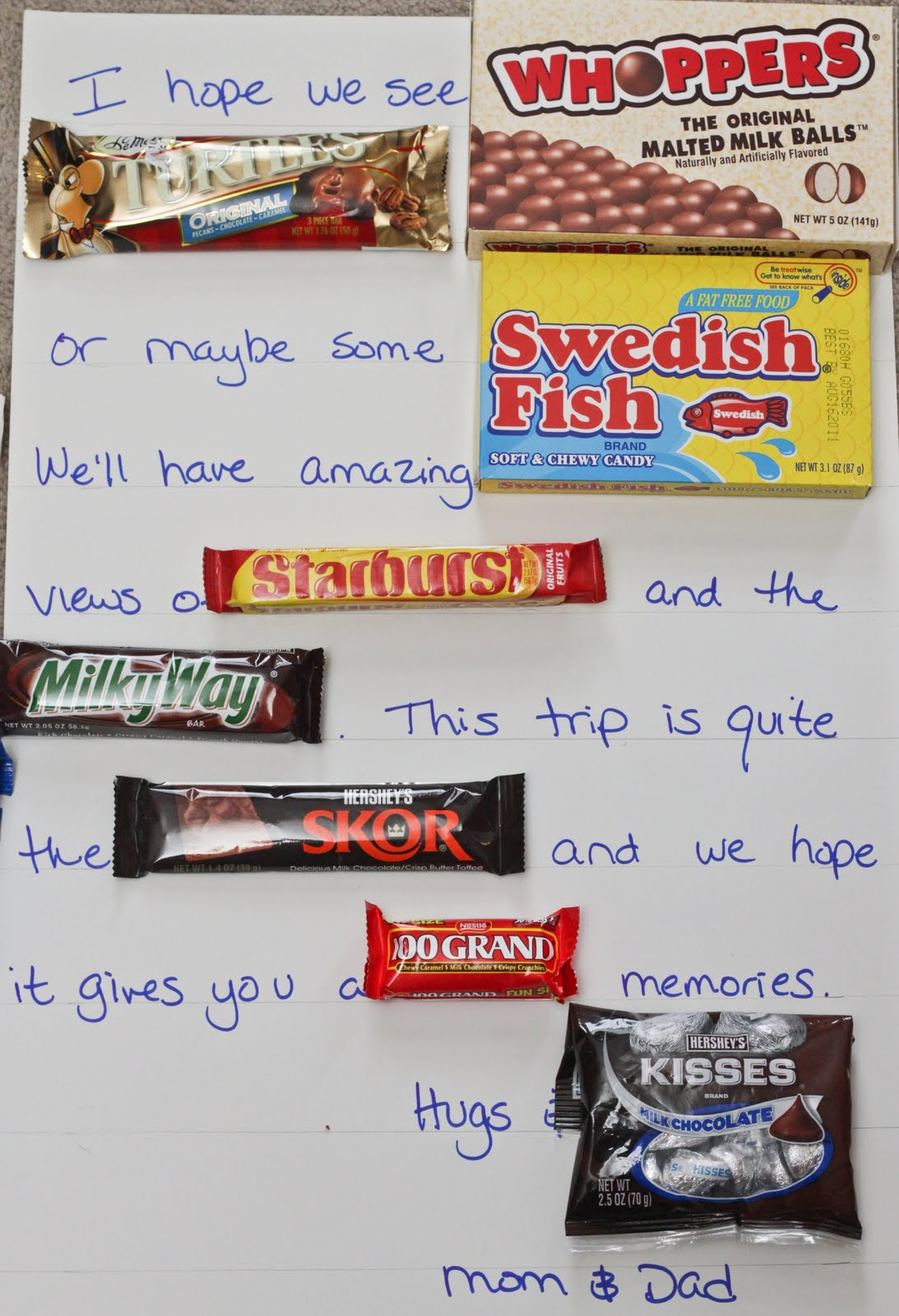 Candy Bar Poems