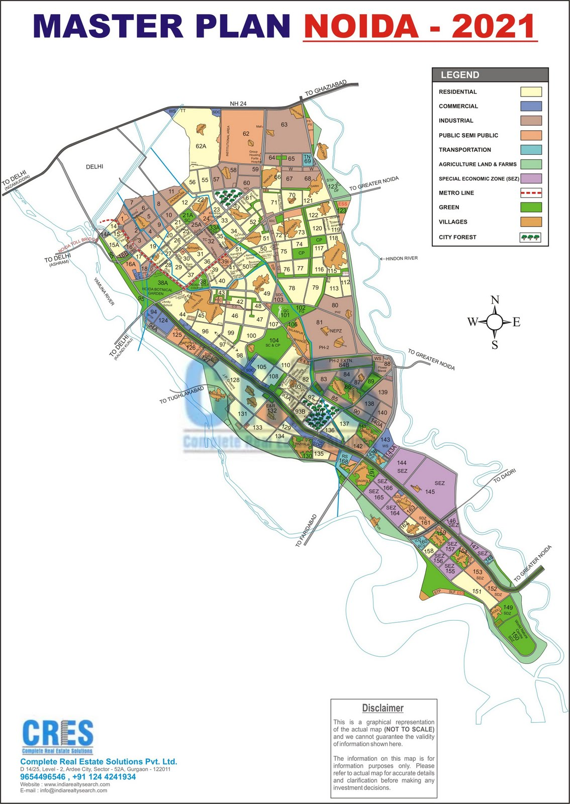 Noida India  City new picture : india bulls: Noida Map