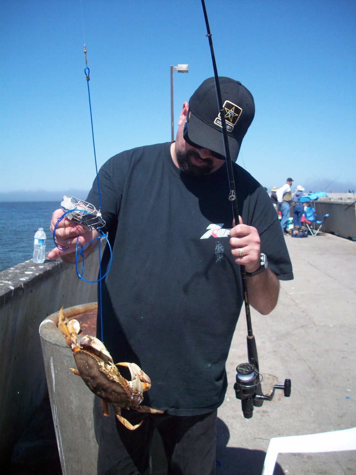 Fancypat fishing at pacifica pier for Half moon bay pier fishing