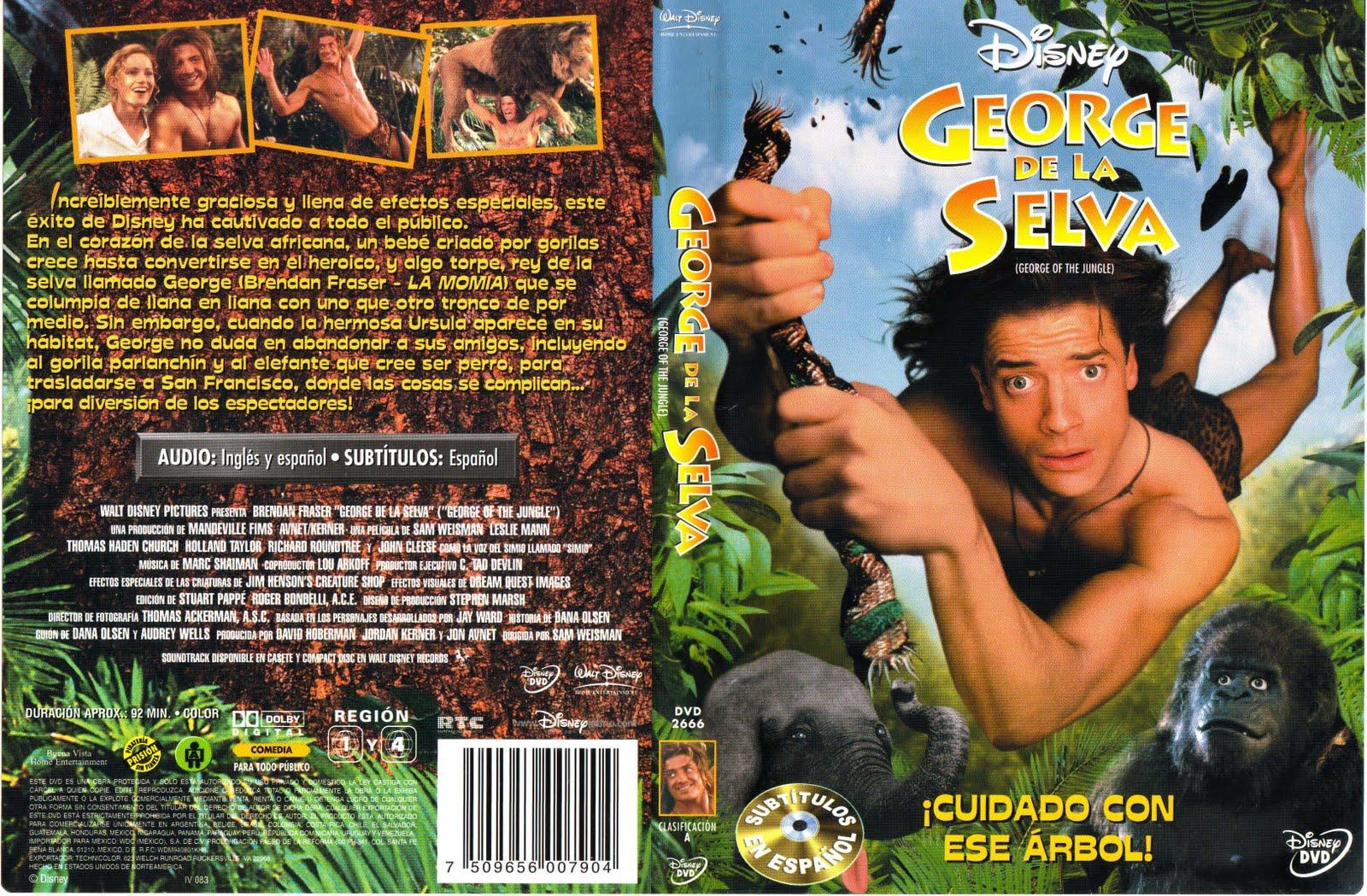 George of the jungle 1997 dvd images - Tarzan pelicula completa ...