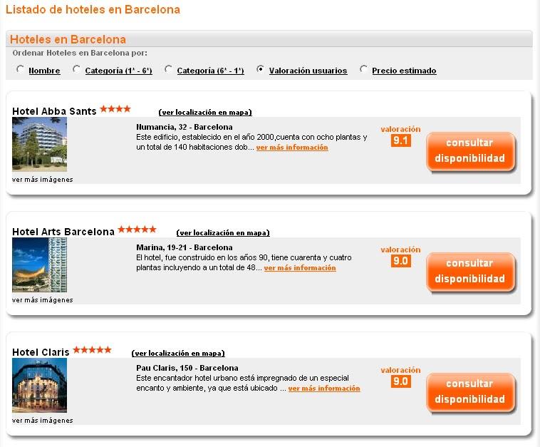 Hoteles de destinia en barcelona for Buscador de hoteles en barcelona