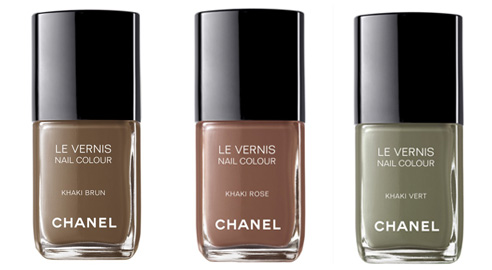 Nail colour trend: Chanel Khakis Collection Fall 2010 ...