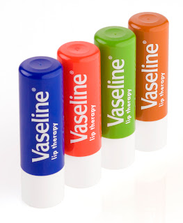 Vaseline lip balm to get pink lips