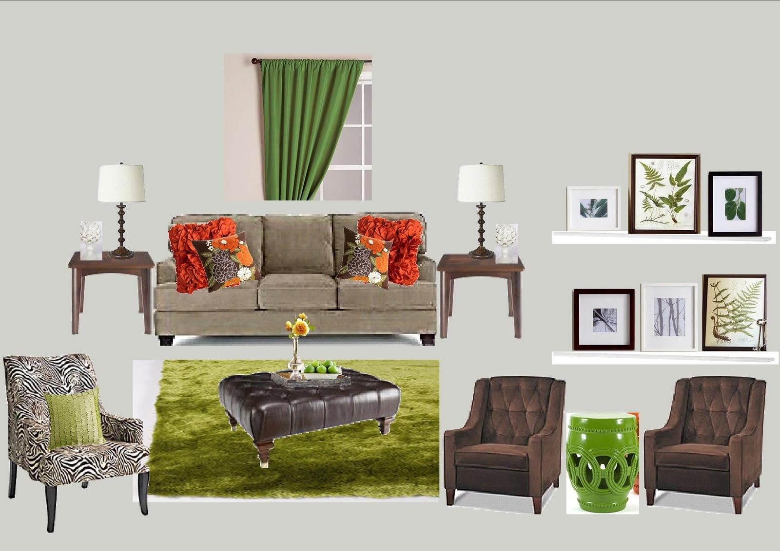 How To Add Color To Neutral Living Room Living Room