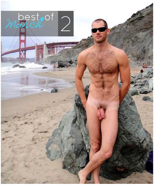 Голые парни-эксгибиционисты на пляже, природе, улице. Фото 63 из 64. 612.