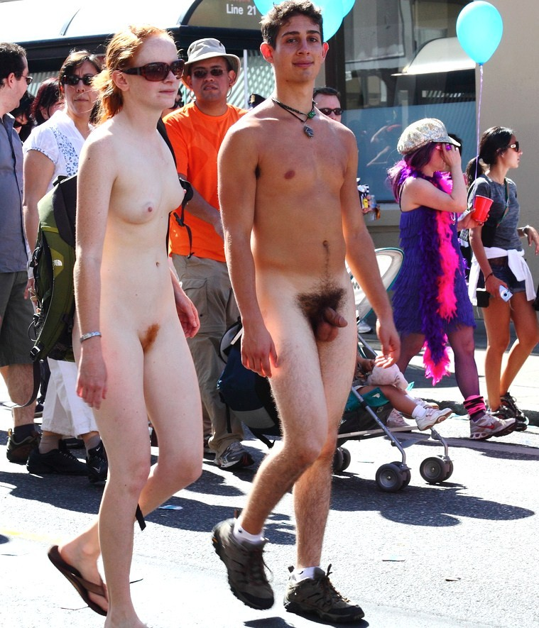 Naked At Bay To Breakers - Hot Girls Wallpaper