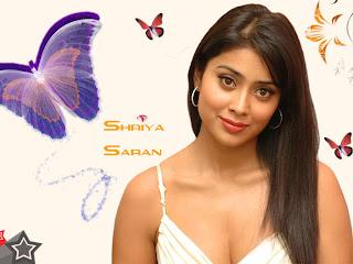 Shriya Saran Shriya+Among+Butterflies