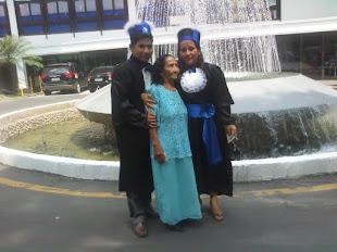 Minha Mãe e meus filhos Alderlan e Ingrid -Licenciados Plenos