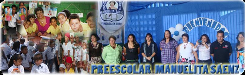 PREESCOLAR MANUELITA SAENZ