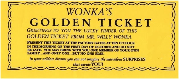 Golden Ticket Party Invitation Template Free Alfa Img Showing – Golden Ticket Party Invitations