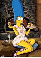 Las Fotos De Marge Simpson Desnuda Para La Revista Playboy