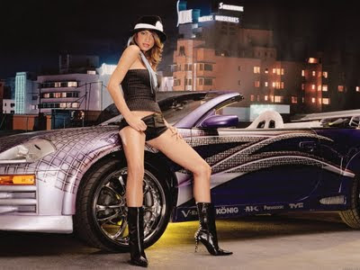 Cars And Girls Photos. Luxury cars with girls