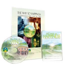 """Brinde Grátis - Livro + DVD """"O Caminho para a Felicidade"""""""