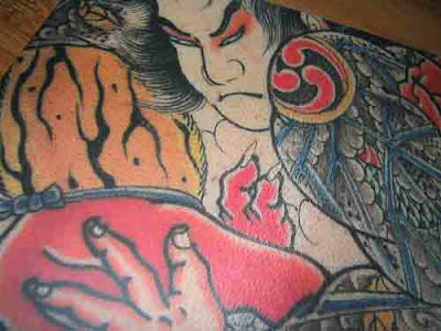Japanese Tattooed