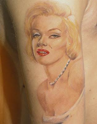 marilyn monroe tattoos. marilyn monroe tattoos.