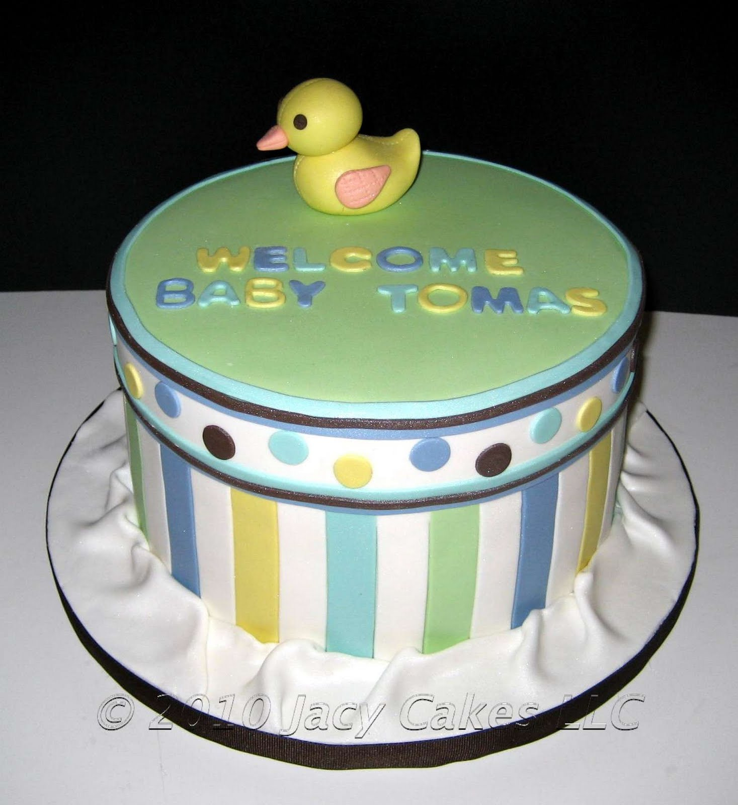 News From Jacy Cakes: Baby Shower Duck Cake