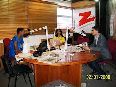 Camilo Then es entrevistado por Edith Febles y Patricia Solano en la Z101 FM