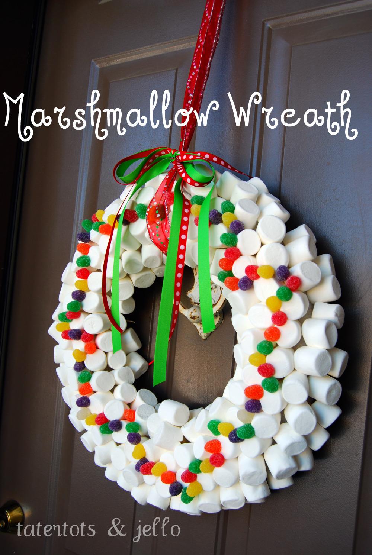Whimsical Christmas Wreath Tatertots And Jello