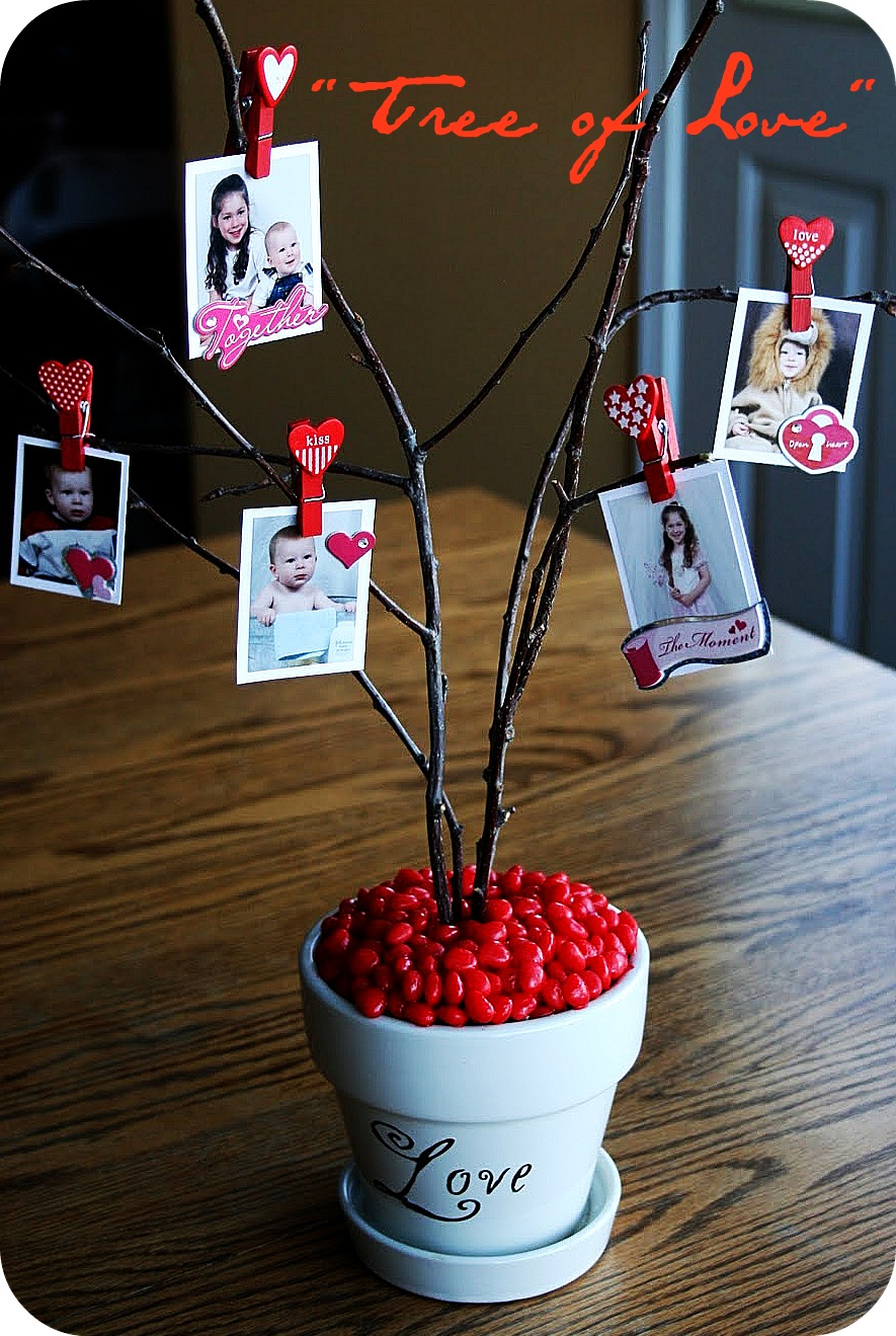 Guest Project U2014 Make A Valentine Tree Of Love!!