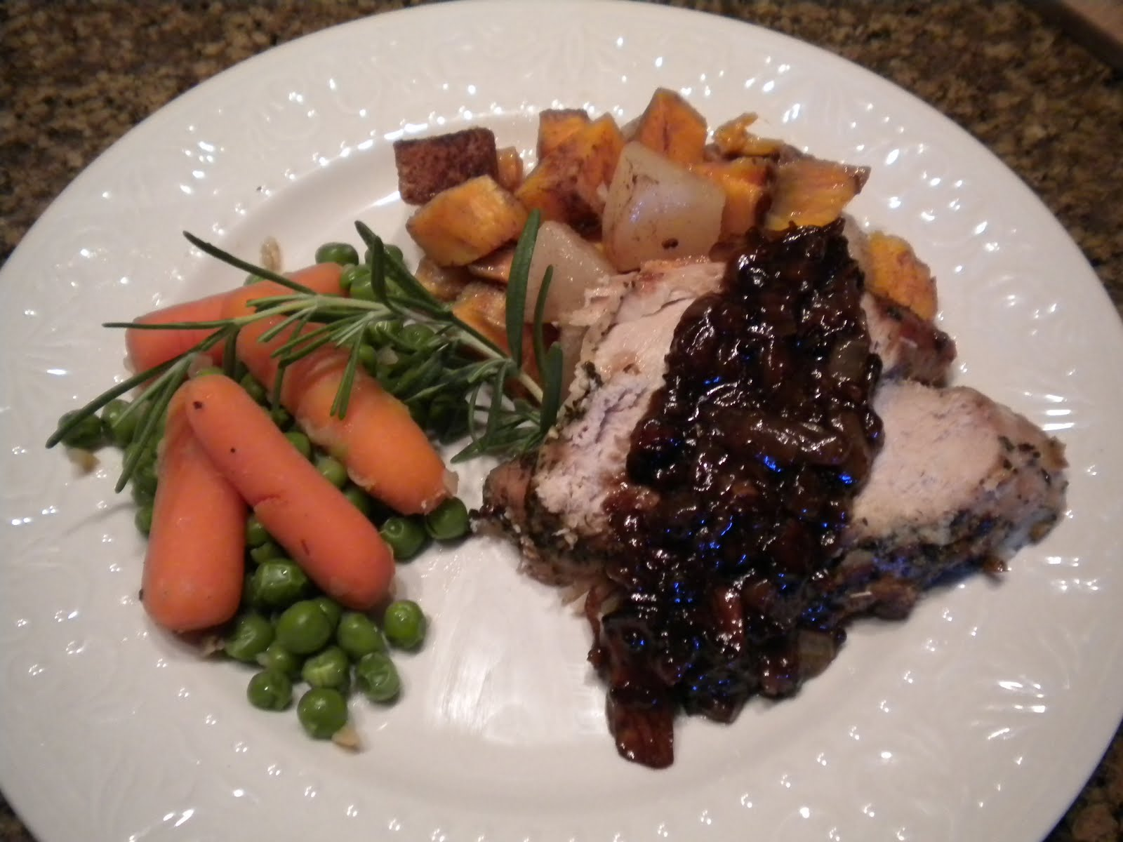 herb crusted pork tenderloin herb crusted pork roast with herbed pork ...