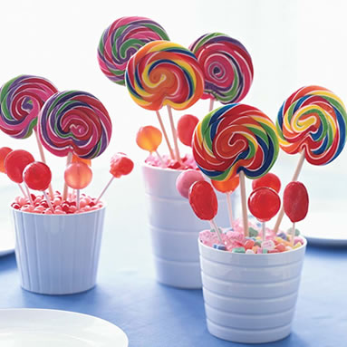 Candy Birthday Party Centerpiece Ideas