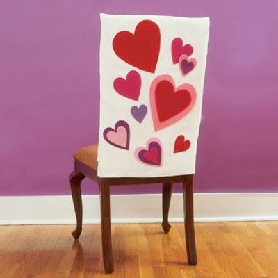 Fundas para tus sillas de san valent n portal de - Como hacer adornos de san valentin ...