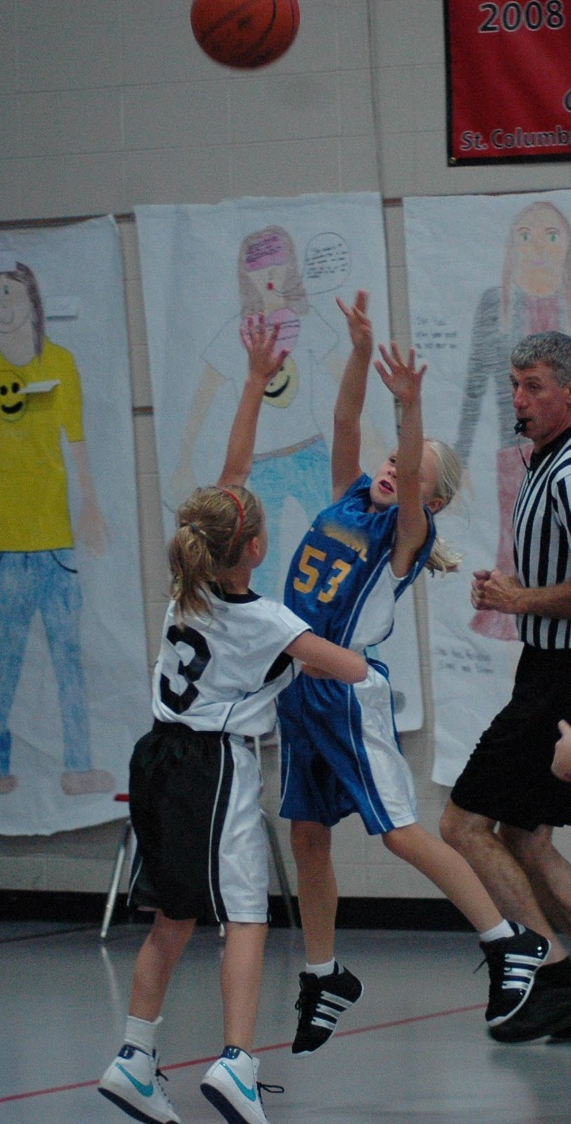 Youth Basketball: Teammates Facing Teammates