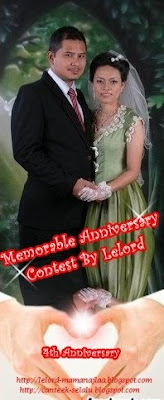 Memorable Anniversary Contest By Lelord