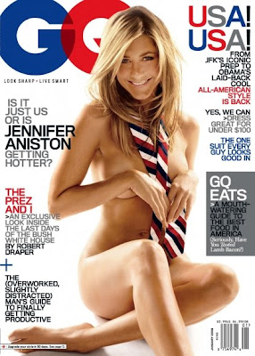 Jennifer Aniston GQ Cover Scans - Jan 2009