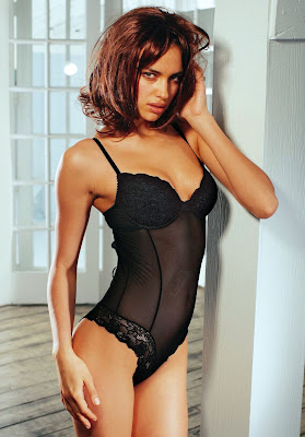 Irina Sheik lingerie Photo Shoot