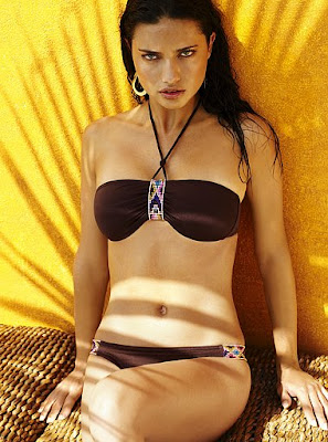 Adriana Lima Victoria's Secret Swimwear Photo shoot