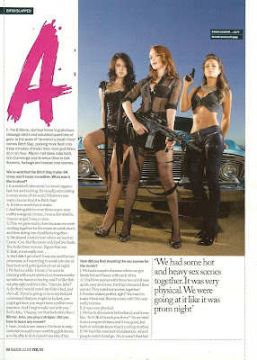 The Bitch Slap Girls Maxim UK Scans