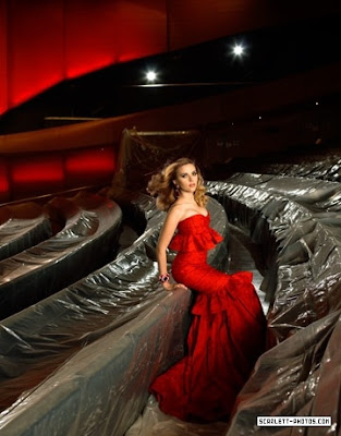 Scarlett Johansson Harpers Bazaar Photo Shoot