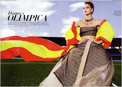 Ana Beatriz Barros Elle Magazine Photoshoot