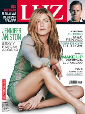 Jennifer Aniston LUZ Magazine Photoshoot