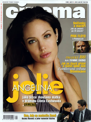 Angelina Jolie Cinema Cover Scans