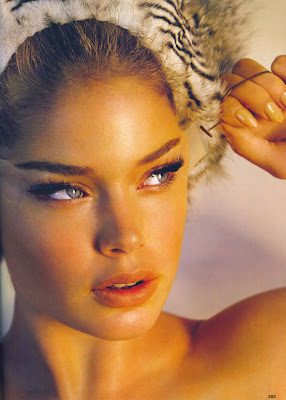 Doutzen Kroes Allure Magazine photo shoot