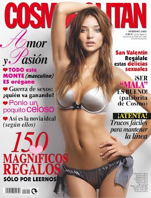 Miranda Kerr Cosmopolitan Cover Scans